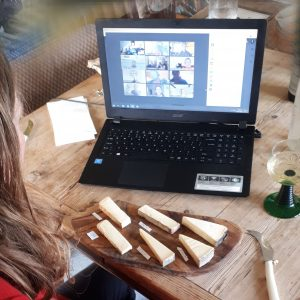 Virtual Zoom Cheese and Beer Tasting